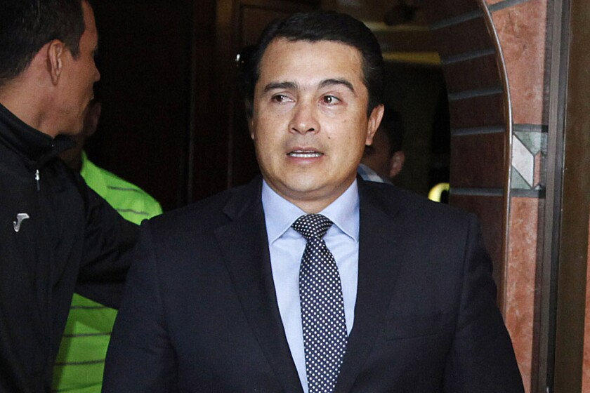 "Juan Antonio ""Tony"" Hernández, brother of Honduras President Juan Orlando Hernández, is accused of using his government connections to smuggle U.S.-bound cocaine through Honduras."