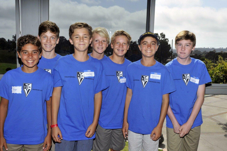 8th Grade TVIA students