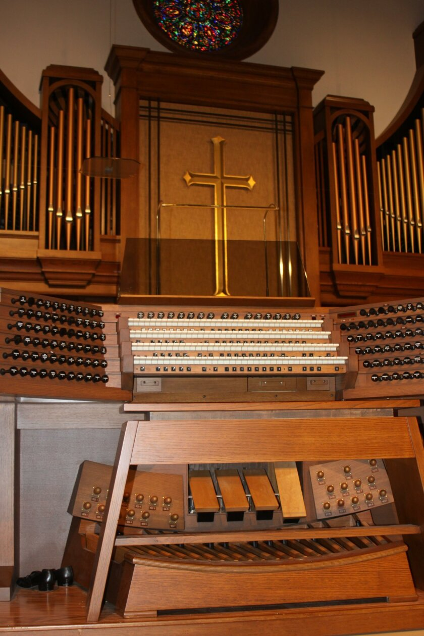 La Jolla Presbyterian Church pipe organ