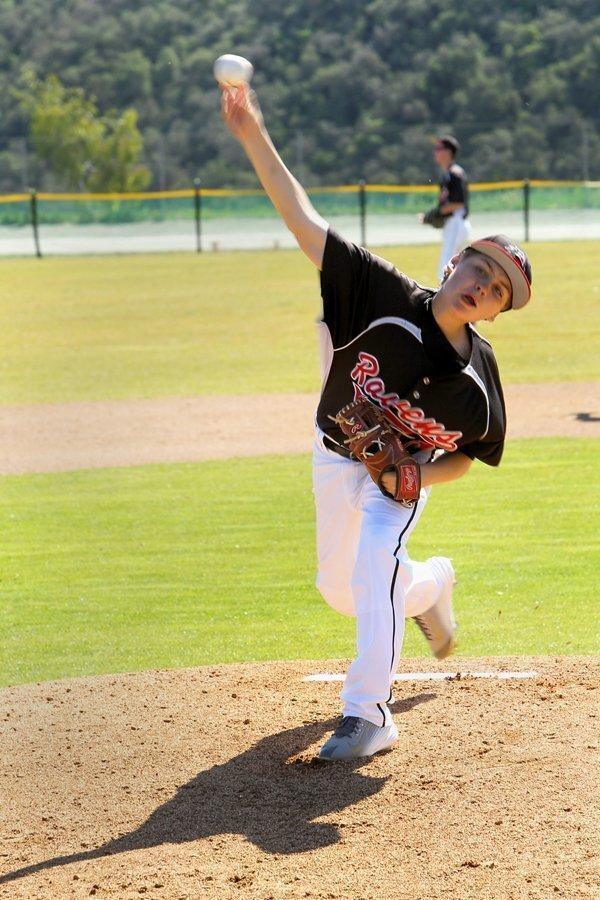 CCA Ravens pitcher