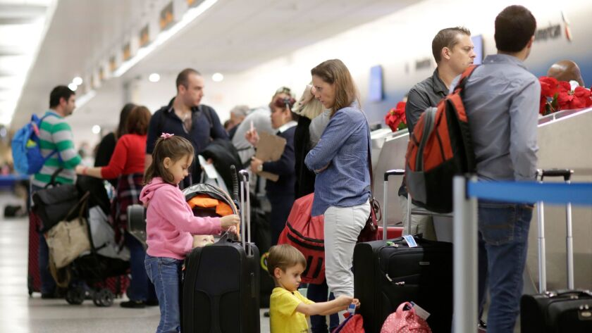 Managing delays and traveling obstacles during the holidays.
