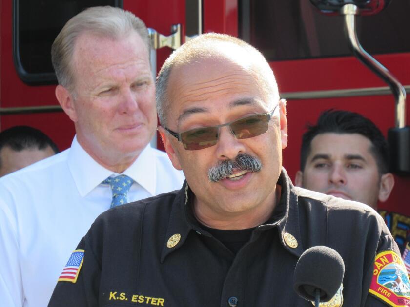 Interim Fire-Rescue Chief Kevin Ester