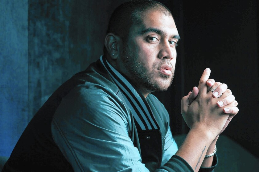 Author Omar Musa.