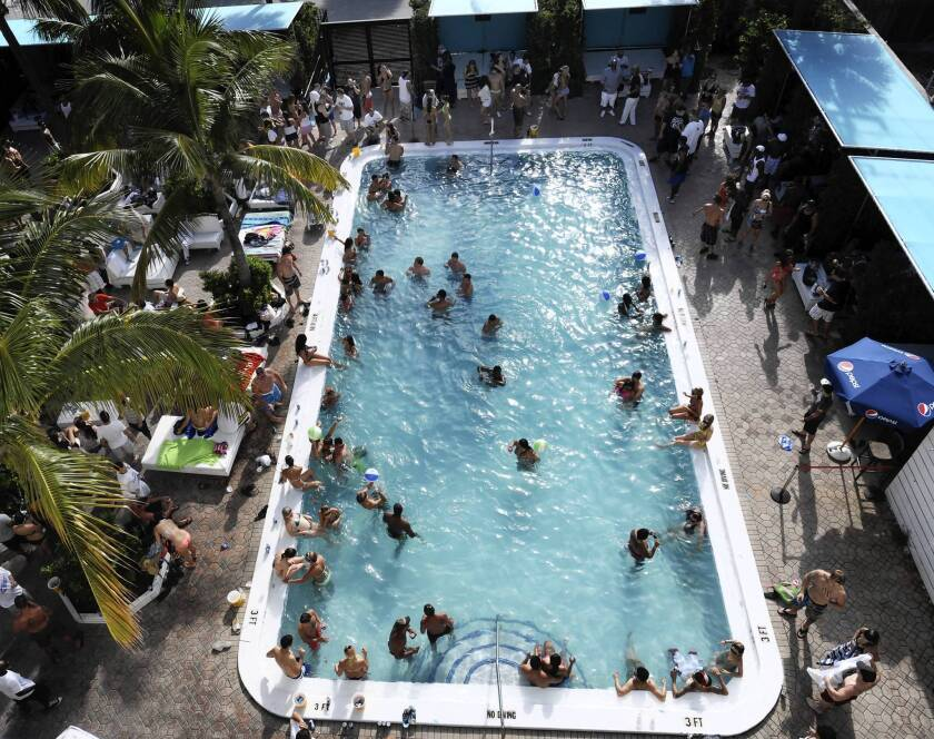 Spring break makes a comeback every weekend at Exit 66 in Fort Lauderdale.