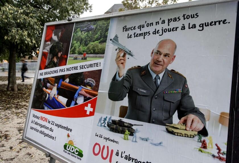Switzerland army vote