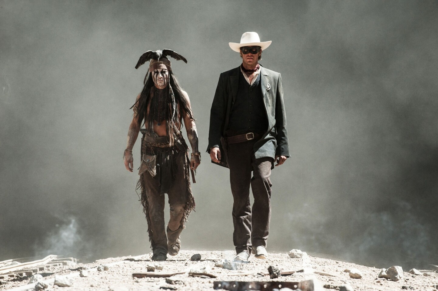 Disney's Western reboot had Jerry Bruckheimer producing and bankable star Johnny Depp starring (in much-mocked makeup and headgear), but the company ended up taking a loss of at least $160 million. Production budget: $225 million Worldwide gross: $261 million