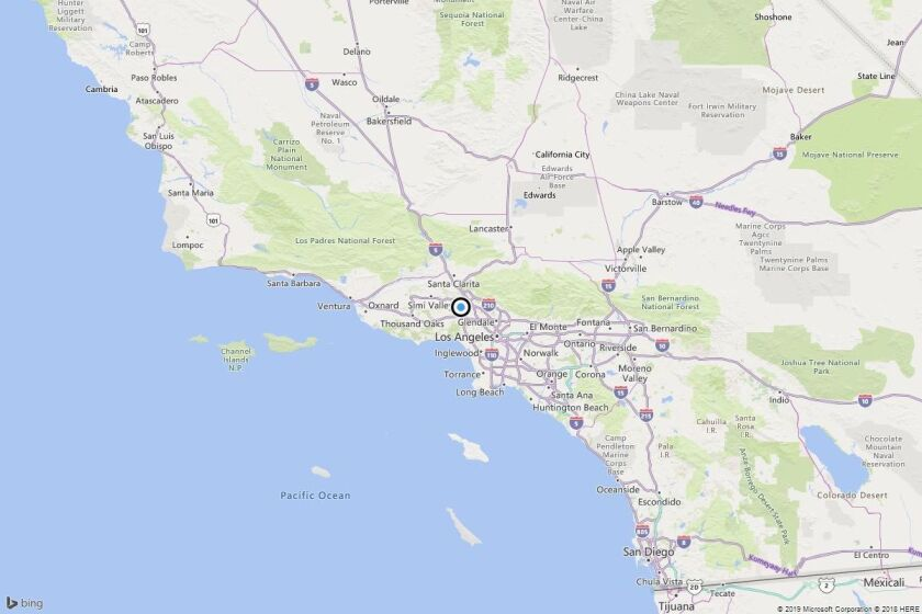 Earthquake: 3.1 quake strikes near Sherwood Forest, Calif.