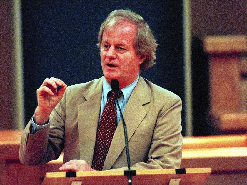 Jonathan Schell dies at 70; author and anti-nuclear activist