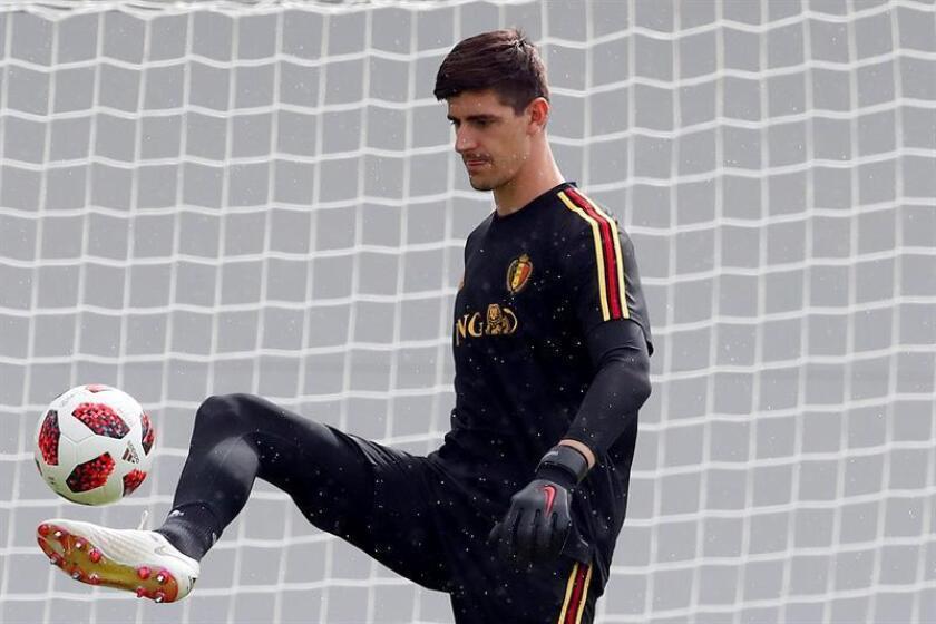 El portero de la selección de Bélgica, Thibaut Courtois. EFE/Archivo