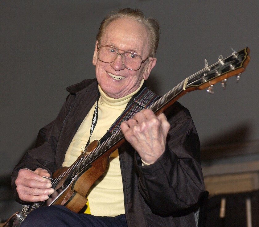 Les Paul, who would have turned 100 this year. A yearlong birthday celebration begins June 9 (his birth date) with a concert at the Hard Rock Cafe in Times Square.