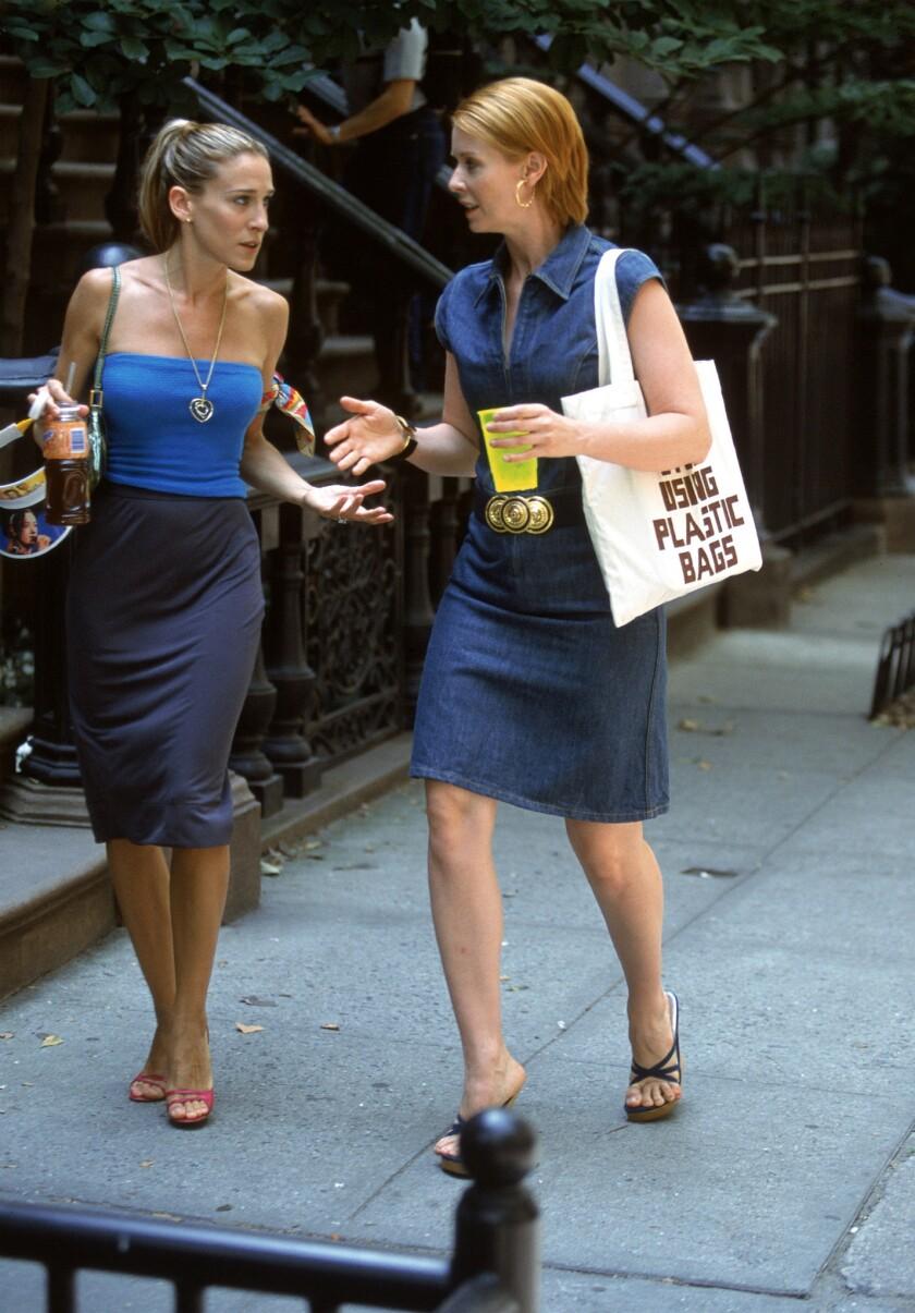Sarah Jessica Parker, Cynthia Nixon