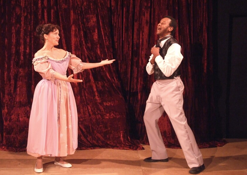 'Red Velvet' at Atwater Playhouse