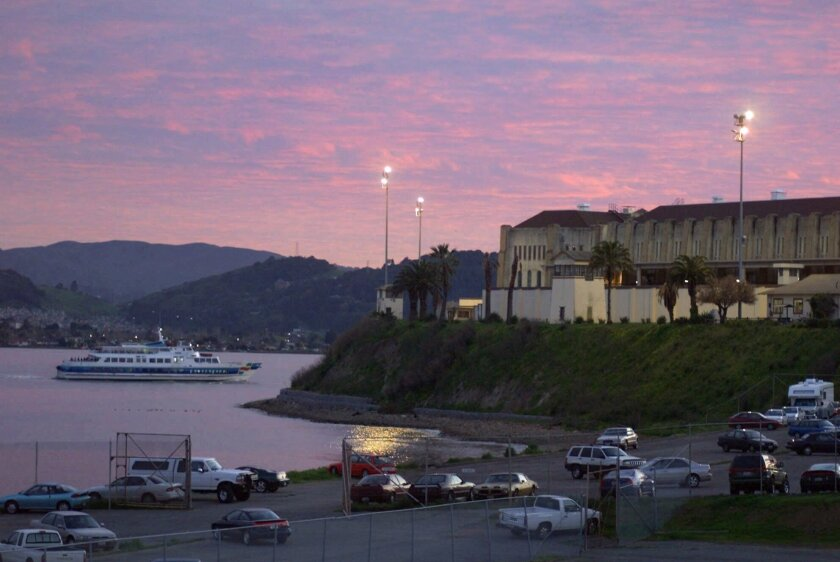 San Quentin, where California's execution chamber sits unused.