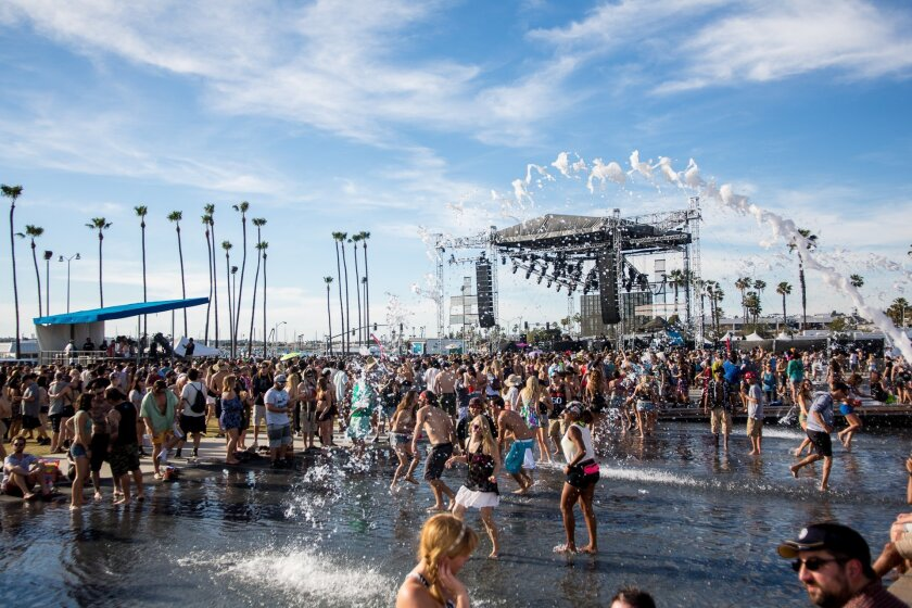 A capacity crowd of 15,000 attended the opening day of CRSSD Fest in March at downtown's Waterfront Park. The festival will hold its second edition in October at the same location.