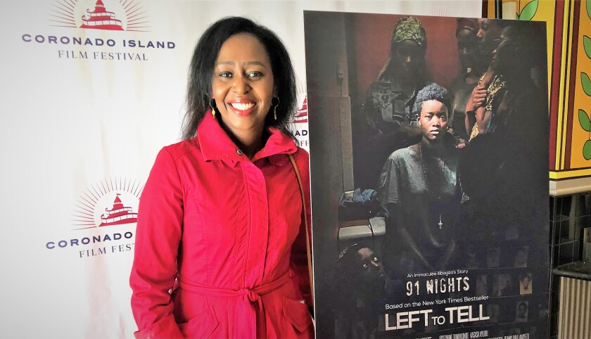 Rwanda student Immaculée Ilibagiza survived a reign of genocide terror raging in her country by hiding in a bathroom for 91 days. She later wrote a book about her near-death experience. Coronado filmmakers are now turning her tale of persecution and forgiveness into a feature film.