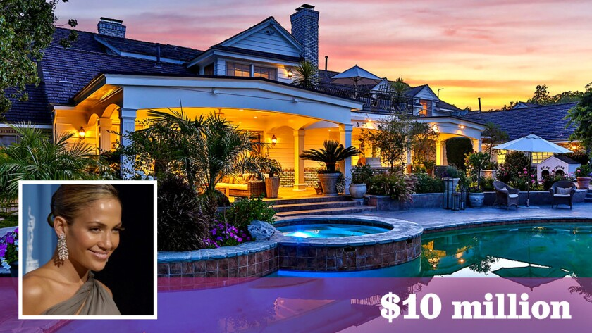 Jennifer Lopez has sold her home in Hidden Hills for $10 million, or $7 million less than her original asking price. She bought another house in Bel-Air last year.