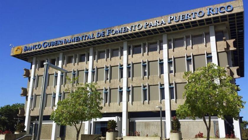 La Autoridad de Asesoría Financiera y Agencia Fiscal (AAFAF) y el Banco de Gubernamental de Fomento para Puerto Rico (BGF) anunciaron hoy el cierre de la reestructuración del BGF bajo una modificación cualificada. EFE/Archivo