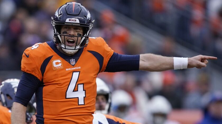 watch bac79 ec70d NFL moves: Broncos agree to trade Case Keenum to Redskins ...