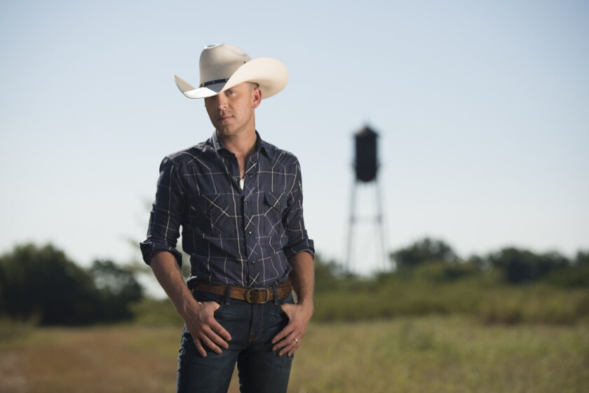 Country singer Justin Moore is headlining the first-ever Coastal Country Jam at Waterfront Park on Saturday, April 8. (Courtesy of Jason Myers)