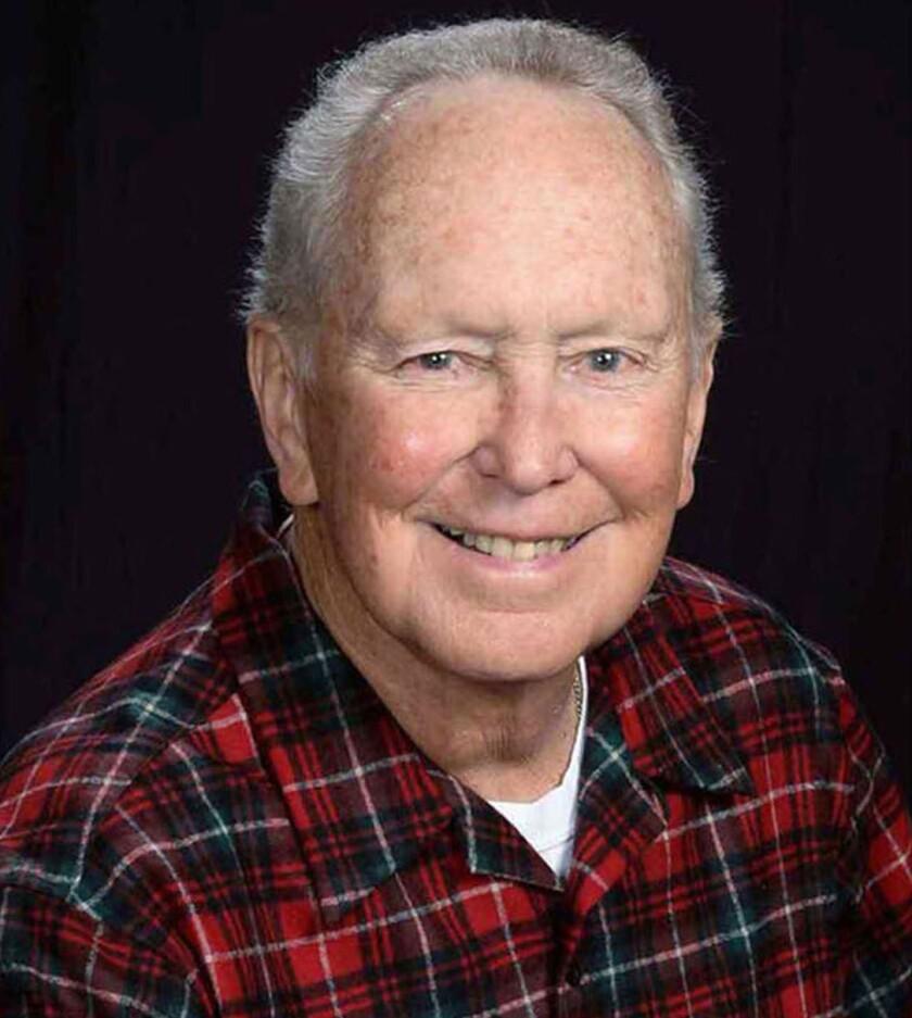 Gerald Haslam in a studio portrait photo