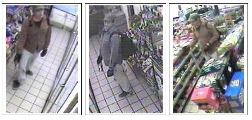 San Diego police have identified this man captured by surveillance cameras as the suspect in a series of attacks on homeless men that have left three dead, one critically hurt.