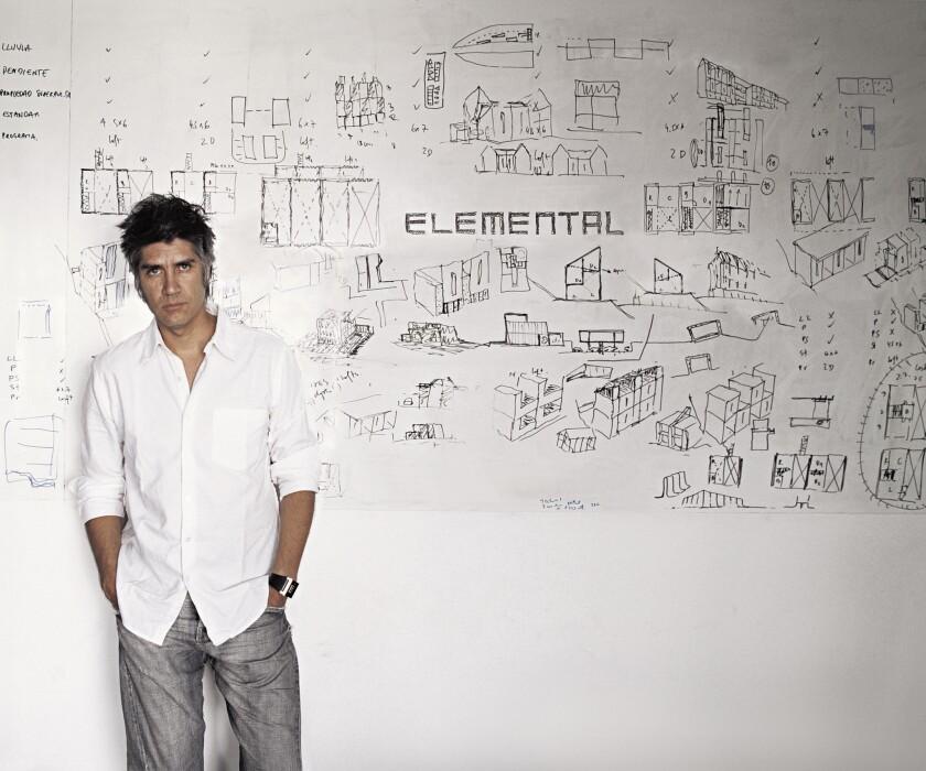 The architect Alejandro Aravena