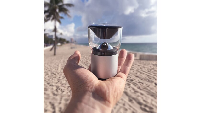 VSN Mobil V.360 HD Action Sport camera resists dust, sand and water and fits neatly in a palm