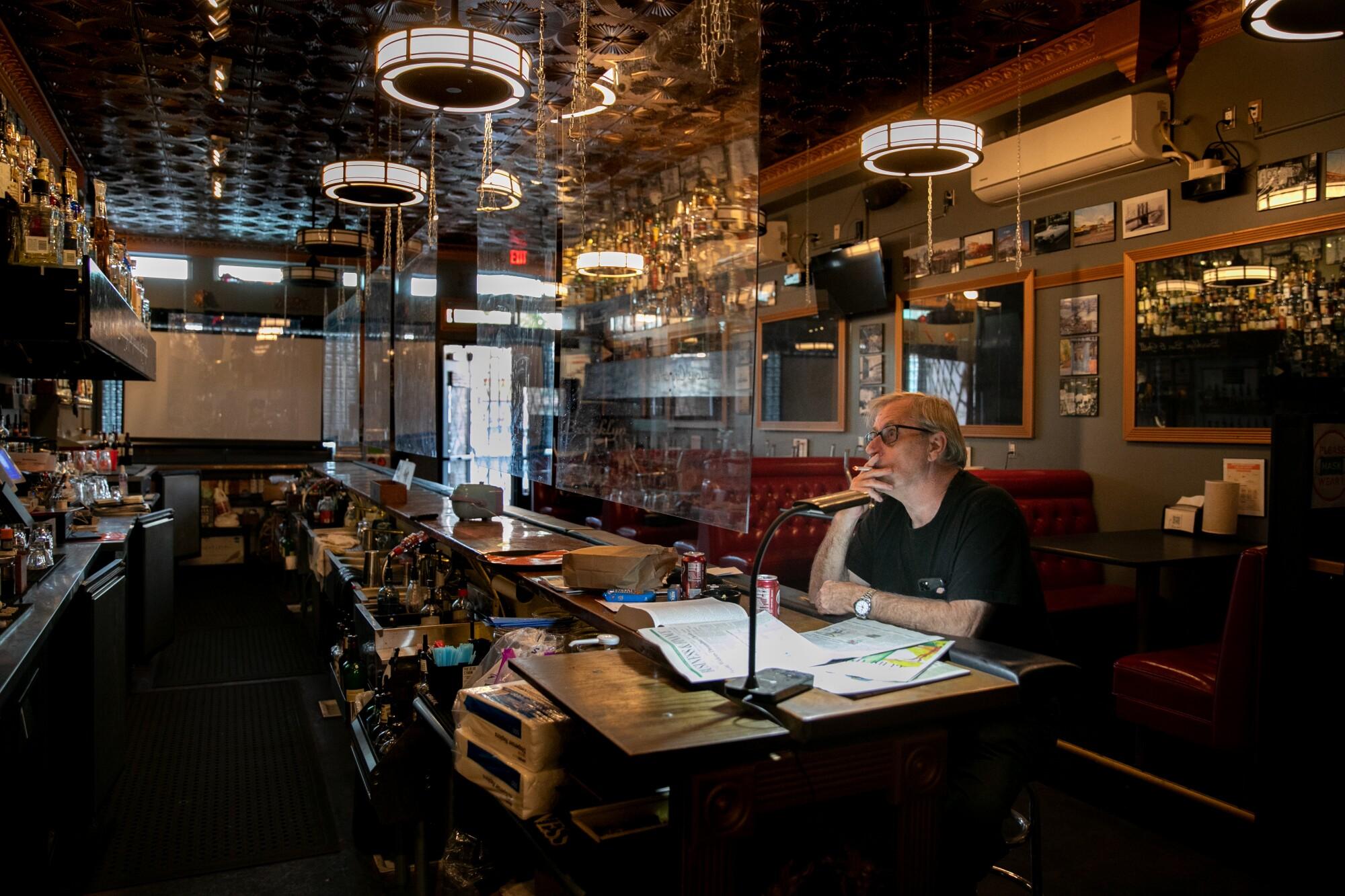 Bill Lutzius, owner of Brooklyn Bar & Grill