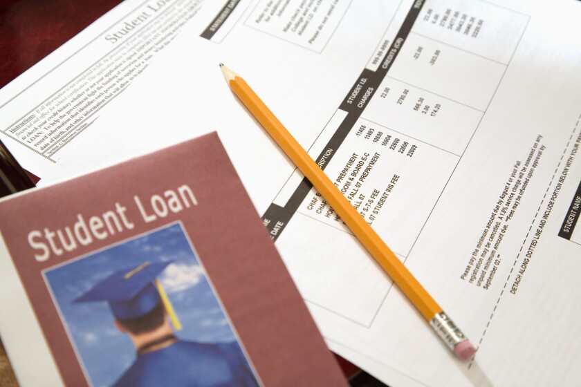 A New York Federal Reserve study showed that student loan delinquencies rose to worrisome levels in the fourth quarter.