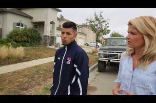 Carlos Balderas of the USA Olympic Boxing team