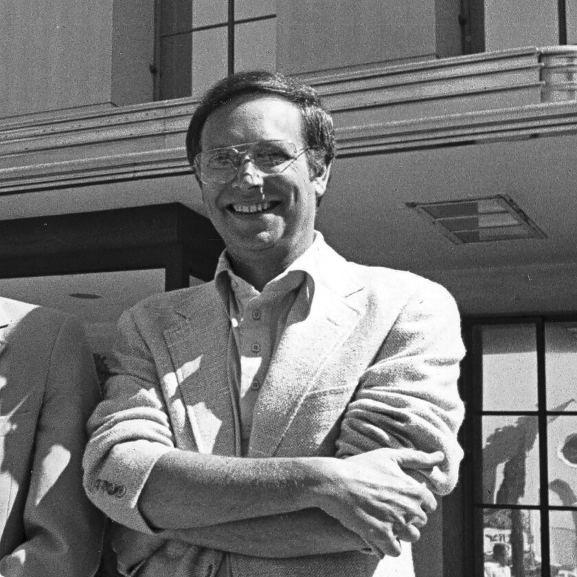 Dick Shepherd in 1979, when he was with MGM.