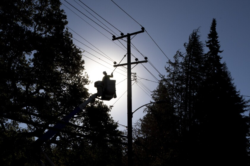PG&E preemptively shut off power to hundreds of thousands of customers in Northern California.