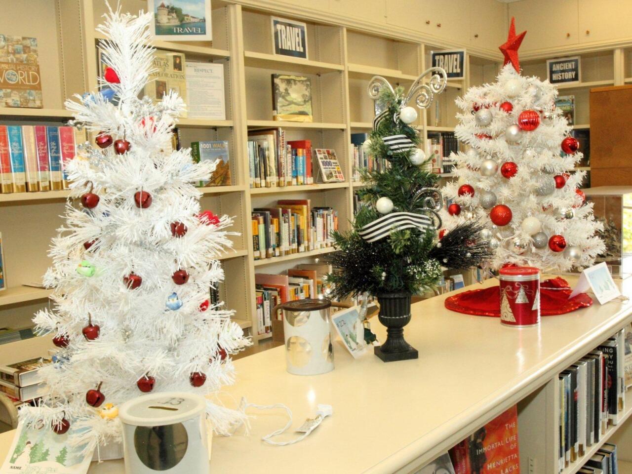 Birdy Tree, Tuxedo Tree, Red & White Tree
