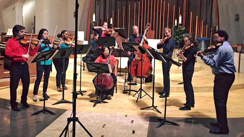 Kontrapunktus is a baroque ensemble that will be playing two concerts in Orange County in February and March.