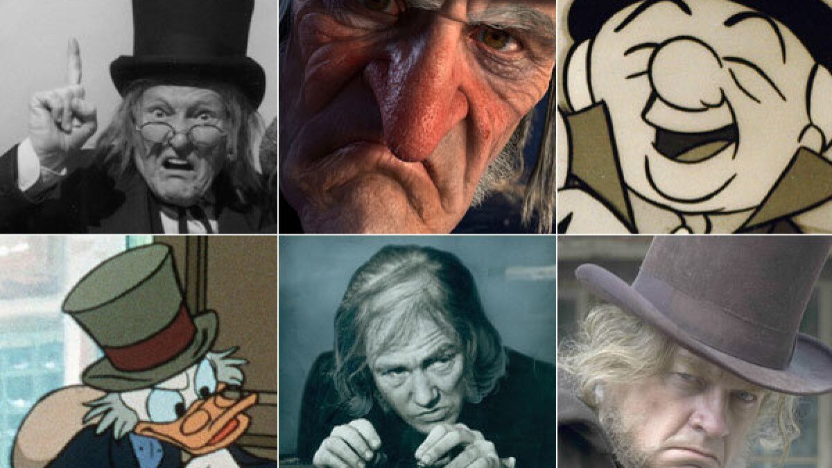 Christmas Carol London 2021 Show Times A Christmas Carol And Ebenezer Scrooge Through The Years Los Angeles Times