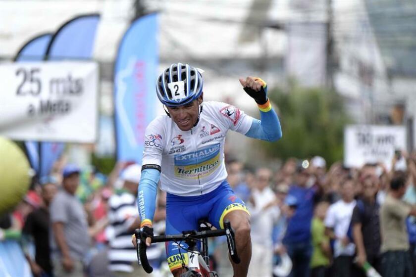 El ciclista costarricense Juan Carlos Rojas. EFE/Archivo