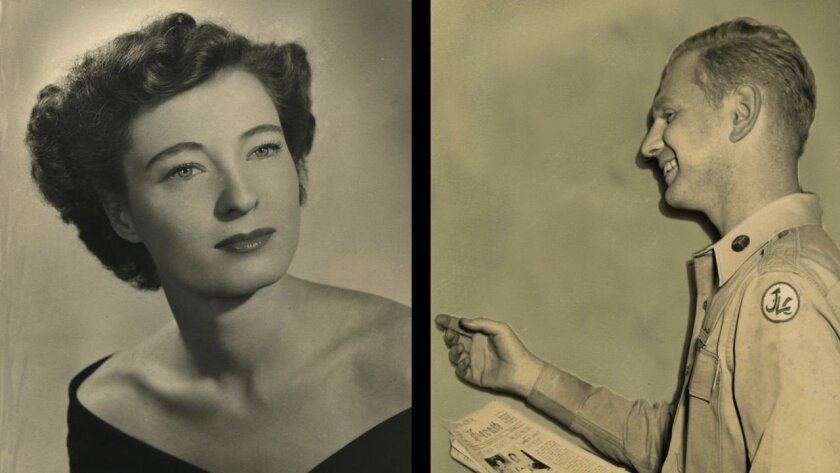 Photographs of Claire and Bernard Boiko from around the time they met in Manhattan.