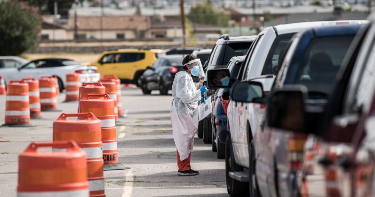 The coronavirus didn't respect borders. Now El Paso and Juarez face a mounting crisis