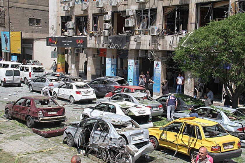 Syria: Huge new bombing in Damascus kills at least 13