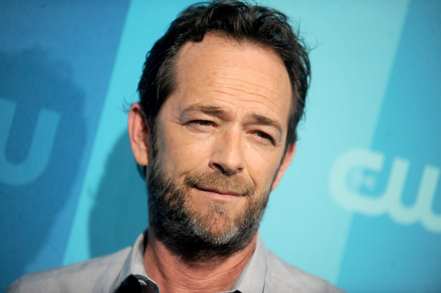 Luke Perry attending the 2017 CW Upfront in New York City on May 18, 2017.