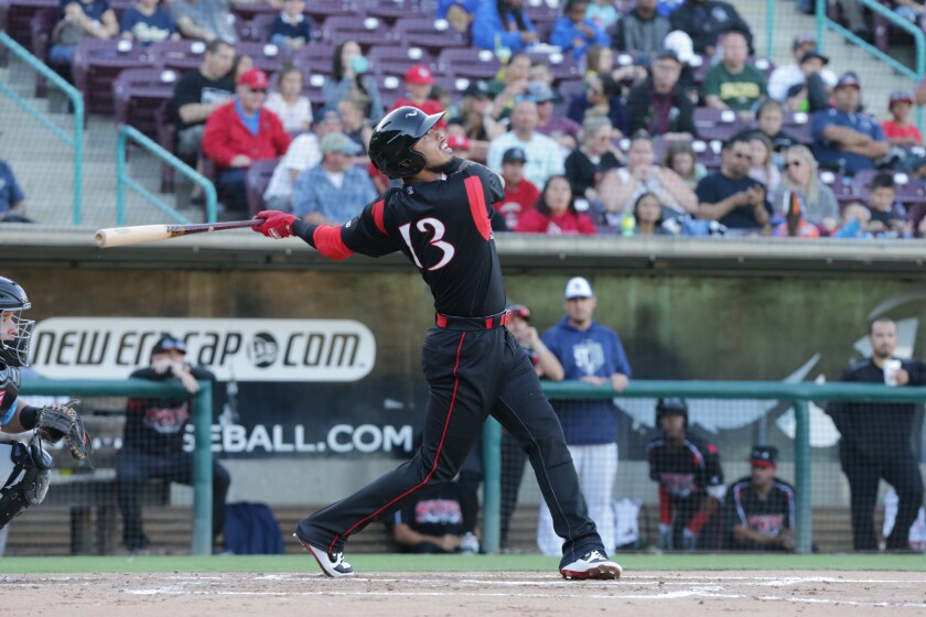 Padres shortsotp prospect Gabriel Arias started 2019 at high Single-A Lake Elsinore.