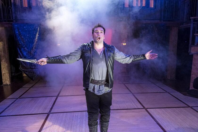 Zak Houston as Hamlet