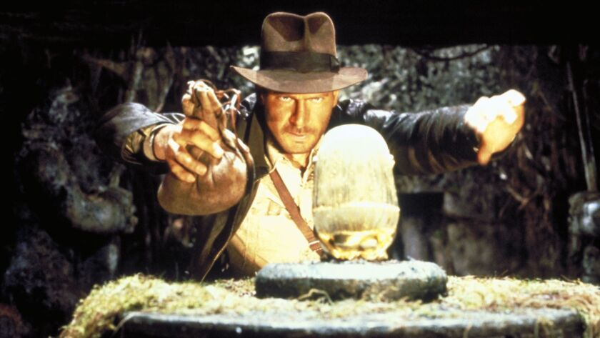 """Harrison Ford in """"Indiana Jones and the Raiders of the Lost Ark"""" (1981)."""