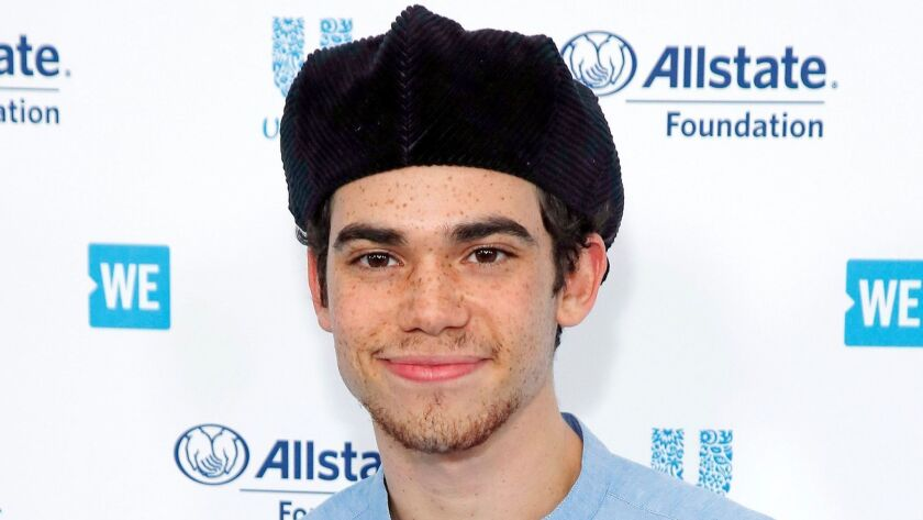 Cameron Boyce died, Inglewood, USA - 25 Apr 2019