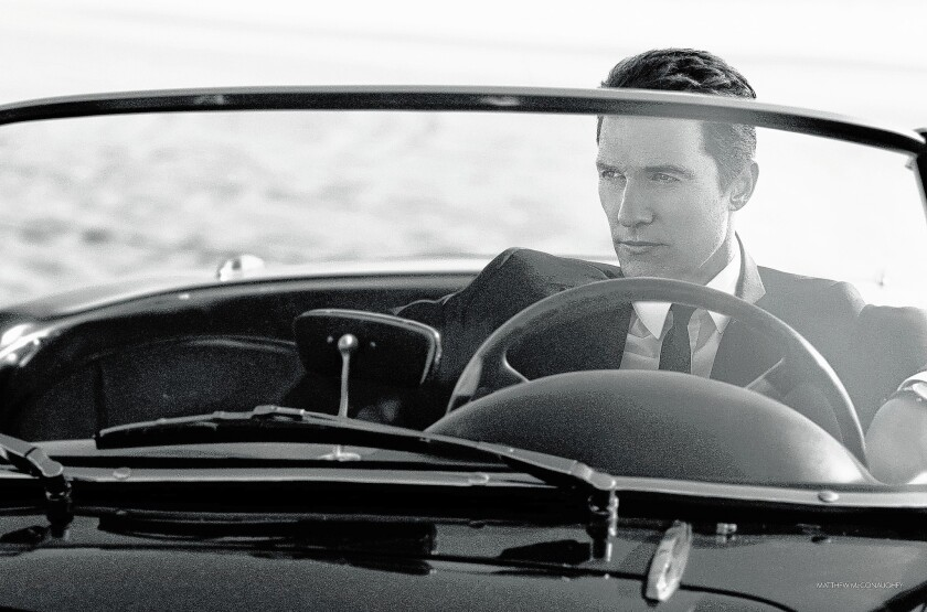 "An outtake featuring Matthew McConaughey in Dolce & Gabbana's ""The One for Men"" campaign."