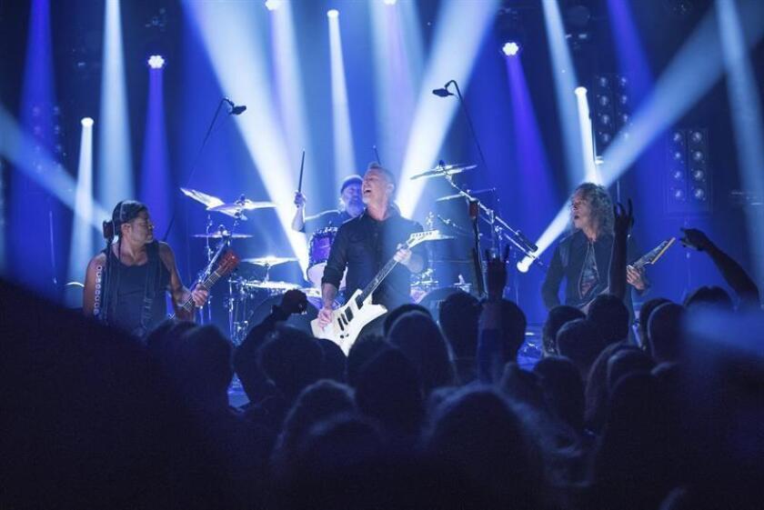Metallica, John Legend, Carrie Underwod y Keith Urban actuarán en la 59 edición de los premios Grammy, anunció hoy la Academia de la Grabación en un comunicado. EFE/ARCHIVO