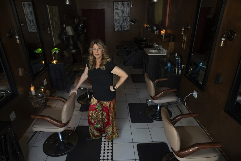 Elaina Wilcox, owner of Color & Craft Salon