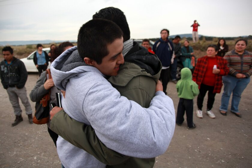 Mexican protesters freed