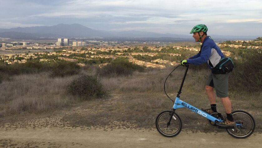 Elliptigo's new bike has no place to sit — and that's the point.