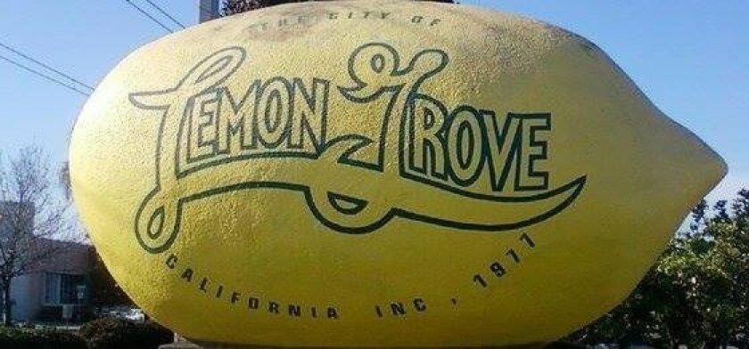 The Lemon Grove lemon.